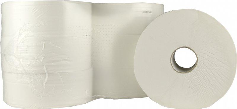 Professioneel toiletpapier op rol voor Maxi Jumbo 2 laags 6 x 380 meter / Snelle levering en voordelig
