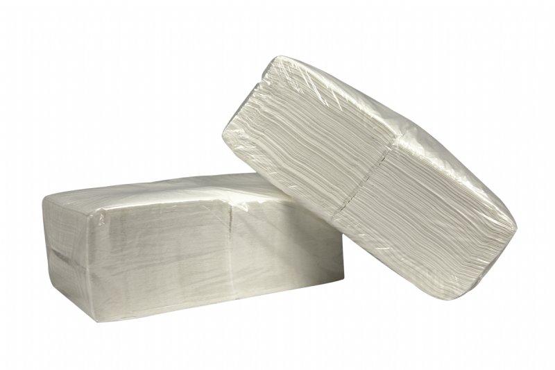 Dikke servetten 2 laags wit 33cm x 33 cm en 250 servetten per pak / uitermate geschikt voor horeca, restaurants, hotels en foodsector