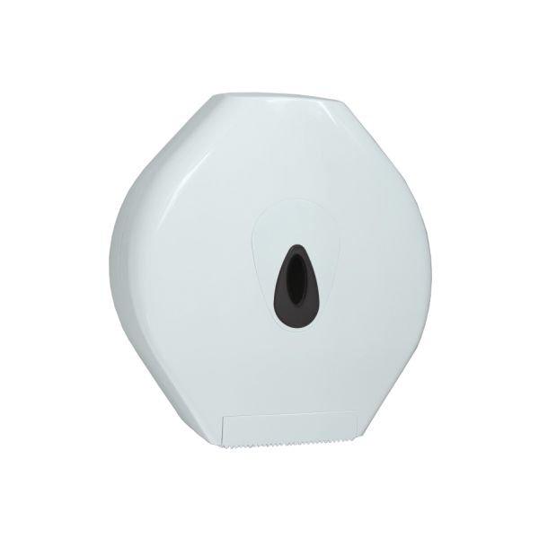 Maxi jumborol dispenser van PlastiQline wit PQMaxiJ | levering door heel Nederland
