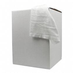 Voordelige softpolish doeken wit 40 gram/m2 32x36cm zonder koker in boxs van 400 stuks