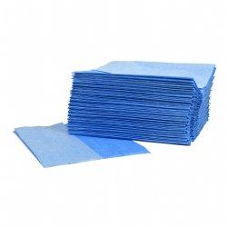 Supertex donkerblauw Z-vouw 29x36cm pluis en krasvrij 10 x 50 doeken per doos