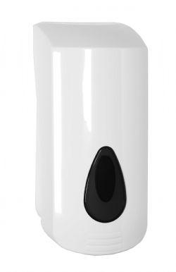 Garagezeepdispenser 2000ml PlastiQline model PQSoapG kunststof wit