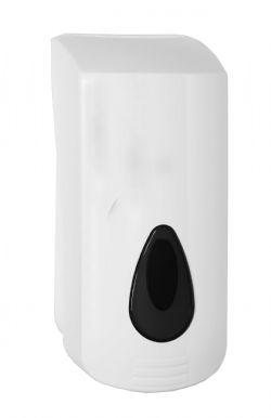 Grote zeepdispenser 2000ml PlastiQline kunststof wit model PQSoap20