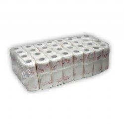 Voordelige keukenrollen papier wit 2 laags 50 vel per rol en 32 rollen per folie / voor keuken, industrie, schoonmaakbranche en horeca