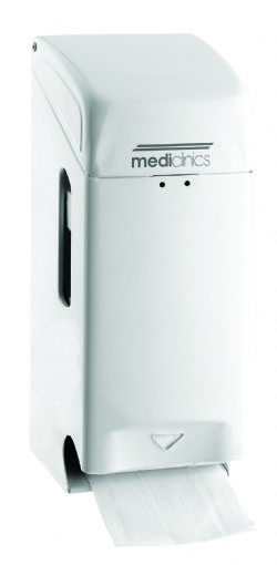 Toiletroldispenser Mediclinics wit staal PRO781 voor 3 wc rollen