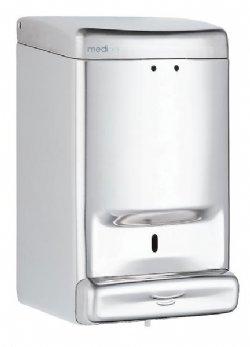Zeepautomaat of zeepdispenser  Mediclinics RVS hooglans DJ0030C voor alle sanitaire ruimten