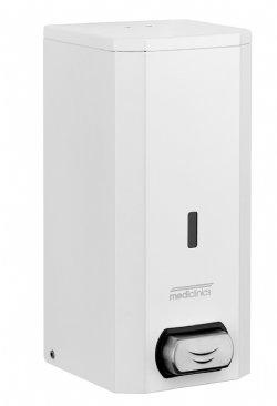 Mediclinics zeepdispenser RVS WIT 1500ML DJ0031 voor alle sanitaire ruimten, keukens en toiletgebouwen