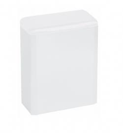 Hygiene afvalbak 6 liter wit Mediclinics PP0006 voor toiletruimten of sanitaire ruimten