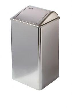 Afvalbak Mediclinics RVS hoogglans PP0065C voor alle sanitaire ruimten en ziekenhuizen